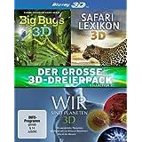 Der große 3D-Dreierpack - Collection 2 [3D Blu-ray]