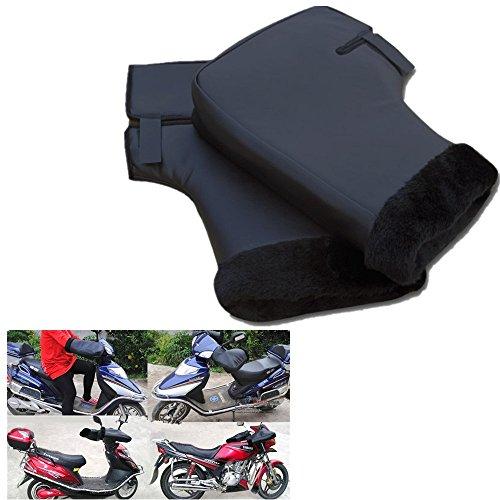 Guantes de moto invierno gruesa manillar protector Impermeable impermeable a prueba de...