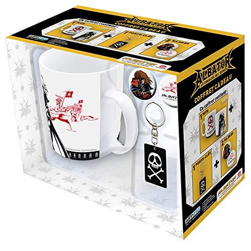 ABYstyle - ALBATOR - Coffret Cadeau - Mug + Porte-clés + Badges Emblème