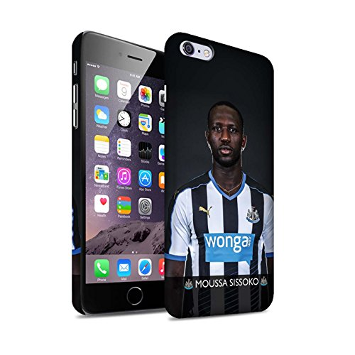 Officiel Newcastle United FC Coque / Clipser Matte Etui pour Apple iPhone 6+/Plus 5.5 / Pack 25pcs Design / NUFC Joueur Football 15/16 Collection Sissoko