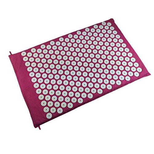 ABS Akupressur Massage-Matte Spike Massagekissen Akupressur Yoga-Matte Yoga Pad Triggerpunkt-Therapie Teppich Matratze LUFA