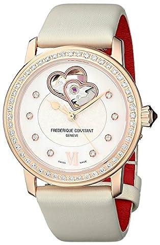 Frederique Constant World Heart Femme 34mm Automatique Montre