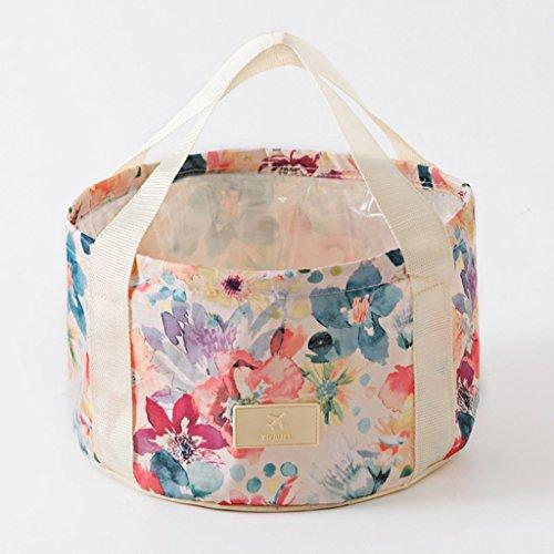 Reise Produkte Kreative Outdoor Camping Tragbare Falten Waschbecken Reise Waschen Set Stehen Waschbecken Tasche -