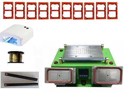 Gowe New Eingebauter Pumpe Vakuum LCD-Separator Touch Screen Glas Middle Bezel Frame Separate Split Reparatur Maschine für iPhone Sumsung
