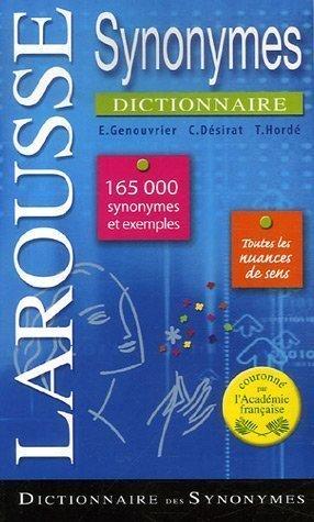 Dictionnaire des synonymes de Genouvrier. Emile (2007) Broché