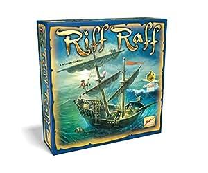 Noris Spiele Zoch 601105012 - Riff Raff, Familienspiel