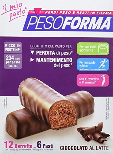 Barretta cioccolato al latte 12 pezzi