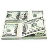Best American Crafts Feuilles d'artisanat - 100 PCS/SET Américain Feuille D'or Dollar Dollar Faux Review