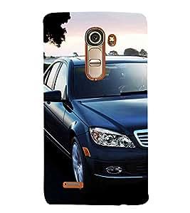 Luxury Car 3D Hard Polycarbonate Designer Back Case Cover for LG G4 Mini :: LG G4c :: LG G4c H525N