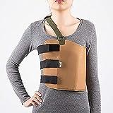 Fajas cintura abdomen lucha contra la salud transpirable fractura torácica lesión de fijación banda ajustable costilla cinturón hombres y mujeres,L