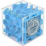 2017nueva dikewang estrés reliver 3d Cube Puzzle de dinero laberinto de ahorro de Banco moneda caja de colección caso divertido cerebro juego cubo diversión Educación Juguete Regalo para los niños adultos