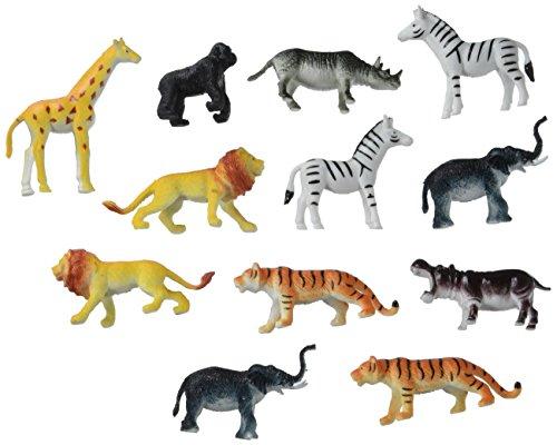 Darice Creatures Inc. - Animales de la Jungla de plástico