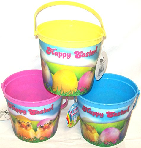 set-of-3-childrens-3d-effect-plastic-easter-buckets-egg-hunt-bucket-chick-design