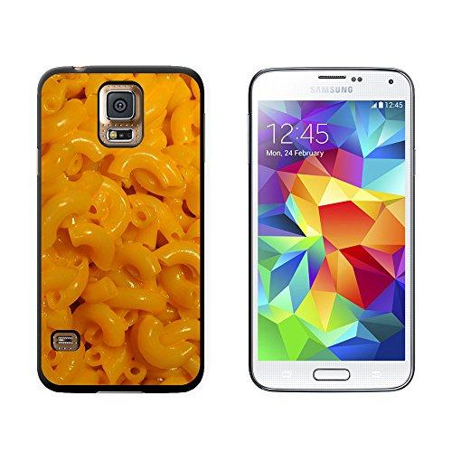 Motiv: Makkaroni mit Käse, Snap-On/Hartschalen-Schutzhülle für Samsung Galaxy S5, Schwarz