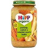 Hipp biologique Organic panais, carottes et céleri-rave Pasta Cuire 10mois + (220g) -