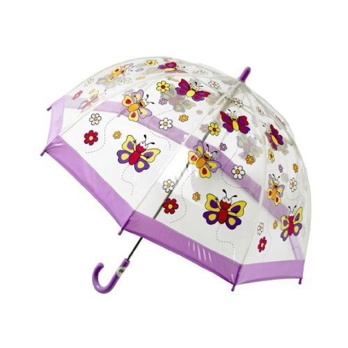 Bugzz PVC Transparent Parapluie