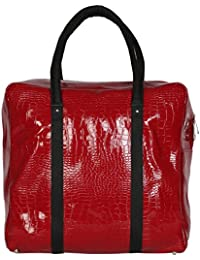 Strutt Red And Black Duffle Bag