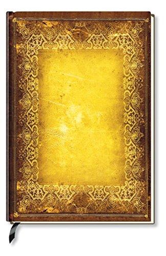 Notizbuch - liniert - Golden Book