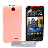 Yousave Accessories HTC Desire 310Case Clear Silicone Gel