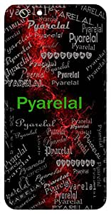 Pyarelal (Lord Krishna) Name & Sign Printed All over customize & Personalized!! Protective back cover for your Smart Phone : Coolpad Note 3