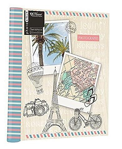Anker Destinations de voyage/vacances/mémoire Album avec 10feuilles autocollant pour 9x