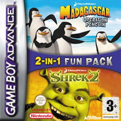 madagascar-operation-penguin-shrek-2-double-pack-gba