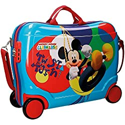 Disney Mickey Twist Equipaje Infantil, 50 cm, 34 Litros, Multicolor