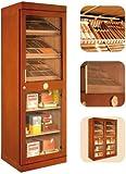 Adorini Humidor Schrank Roma (Cedro inkl. elektr. Befeuchter) Zigarren-Schrank