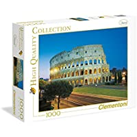 Clementoni - High Quality Collection Puzzle Roma - Colosseo, 1000 Pezzi, 39457