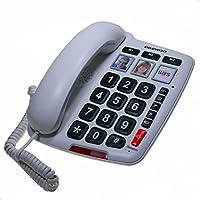 Daewoo DAE30DTC760 - Teléfono fijo con teclas grandes