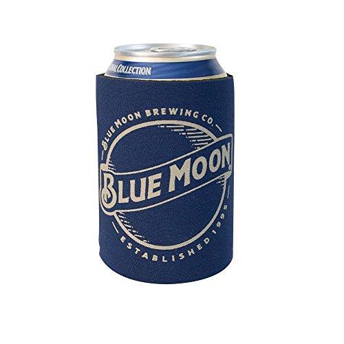 Offizielles Lizenzprodukt Blue Moon Trinken können Halter Neopren Bier Huggie Kühler Sleeve blau