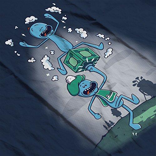 Rick And Morty Meeseeks Caddy Men's Vest Navy Blue