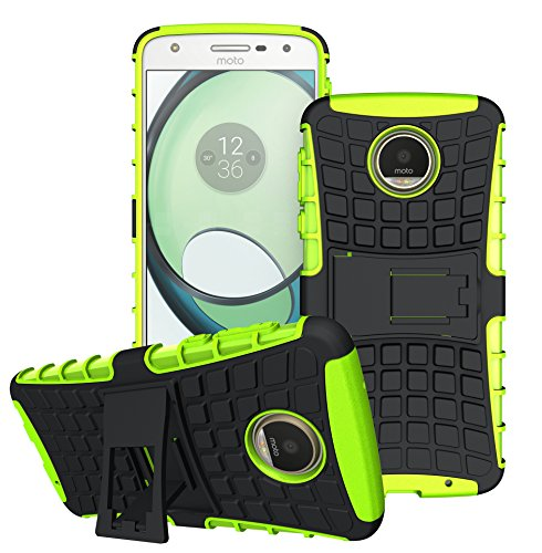FoneExpert® Moto Z Play Handy Tasche, Hülle Abdeckung Cover schutzhülle Tough Strong Rugged Shock Proof Heavy Duty Case Für Lenovo Moto Z Play