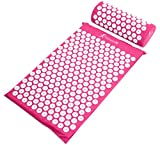 Best Back Pain Acupuncture Mats - ProSource Acupressure Mat and Pillow Set for Back/Neck Review