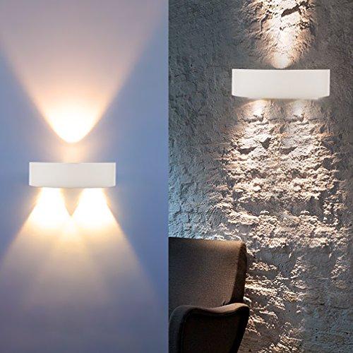 AuraLum 3LED 3W 300LM lampada da parete applique da parete