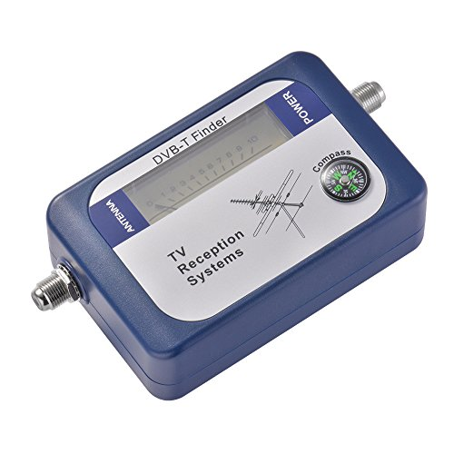 Kreema DVB-T Finder Digital Antenne Terrestre TV Antenne Signal Mètre avec Compas TV Systèmes de Réception
