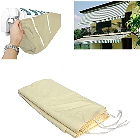 MaMaison007 Jardin de la yarda exterior toldo parasol invernaje polvo bolsa lluvia cubierta Protector