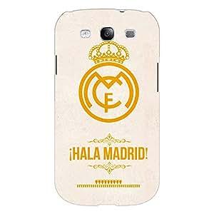 Jugaaduu Real Madrid Back Cover Case For Samsung Galaxy S3 Neo GT- I9300I