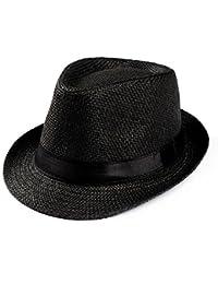 Cappello da Sole - Estivo - in Paglia Traspirante - Anti UV - Uomo - Donna  - Unisex - Spiaggia - Escursionismo… ef422435caab