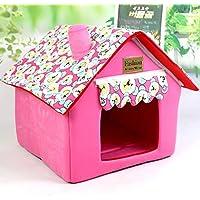 Cama de gato para casa de perro diseñada para perros pequeños y gatos Casa de mascota
