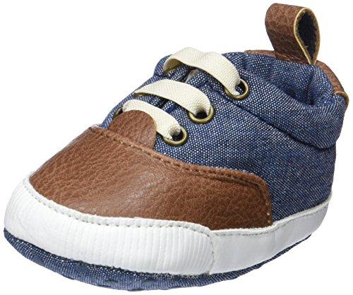 Zippy ZBBS01_410_4, Zapatos de recién nacido Bebé-Niños, Azul (Chambray), 16/17 EU