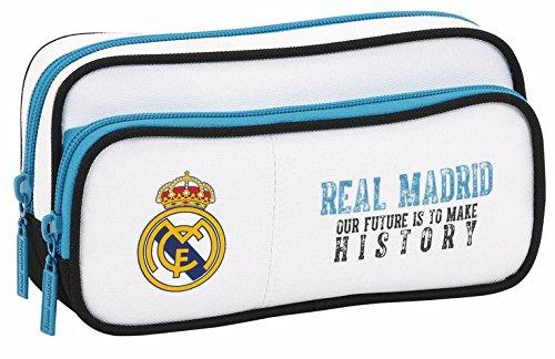 Real Madrid – Estuche portatodo con Bolsillo (SAFTA 811754602)