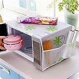 jieGREAT jieGREAT Räumungsverkauf❤❃,Küchenwerkzeug Home wasserdicht Öl Staube Doppel-Taschen Mikrowave Oven Cover