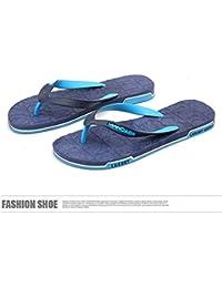 Hausschuhe Paar Schuhe Damen Herren Weiß Rosa Eva Toe Post Surf Sandalen Neue Sommer flache Strandschuhe (Farbe...