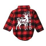 Berrose-Baby Lange Ärmel Gitter Weihnachten Kitz Oben-kinderkleidung-kinderkleidung Babykleidung Kindermode Winterjacke mädchen babymode kinderbekleidung online