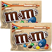 M&Ms Almond Chocolate Candy 263.7g condivisione Size Bag 2 pacchi