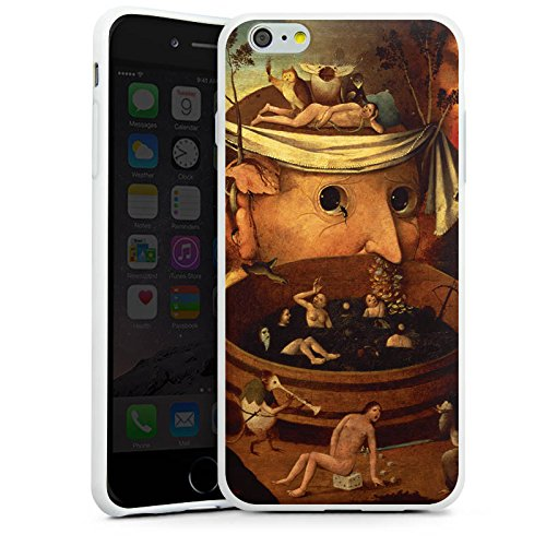 Apple iPhone X Silikon Hülle Case Schutzhülle Tondals Vision Kunst Art Silikon Case weiß