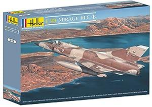 Heller 80411  - Dassault Mirage III C / B importado de Alemania