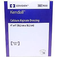 """Covidien 9233 Calcium Alginat Verband 4 """"X 4"""" Verpackung Von 10 preisvergleich bei billige-tabletten.eu"""