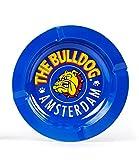 The Bulldog Amsterdam posacenere in metallo blu per fumare